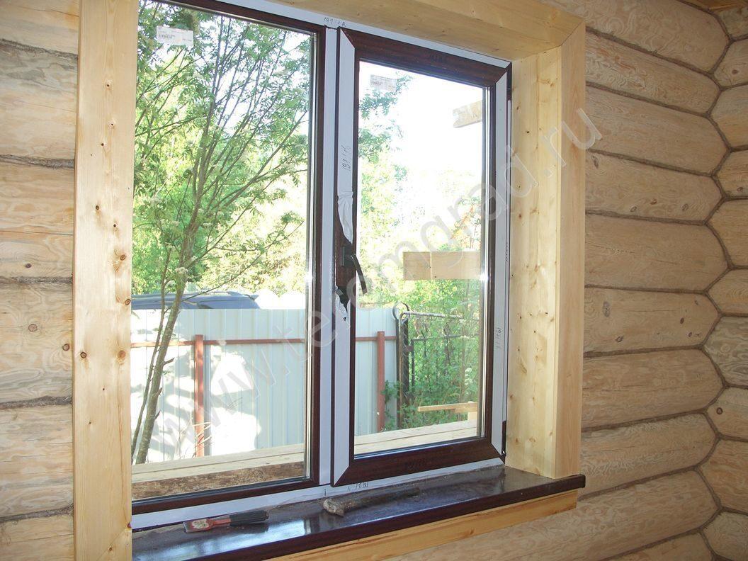 Отделка окон в деревянном доме своими руками фото 363