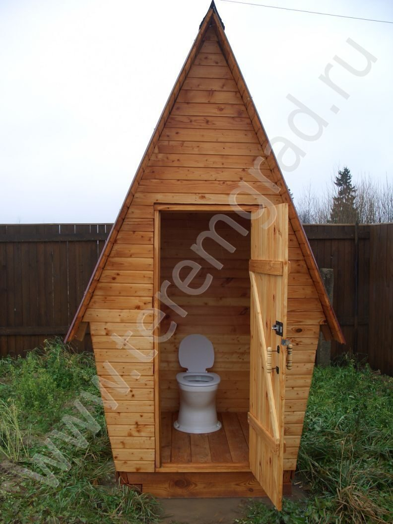 Уличные туалеты своими руками фото