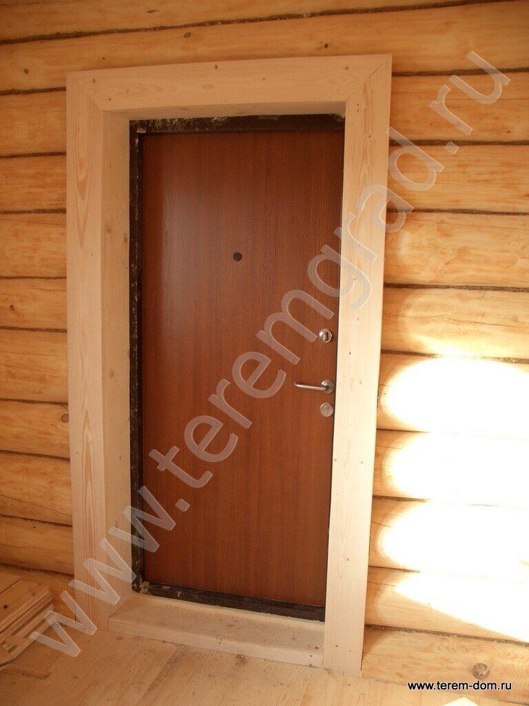 железные двери для бревенчатых домов цены