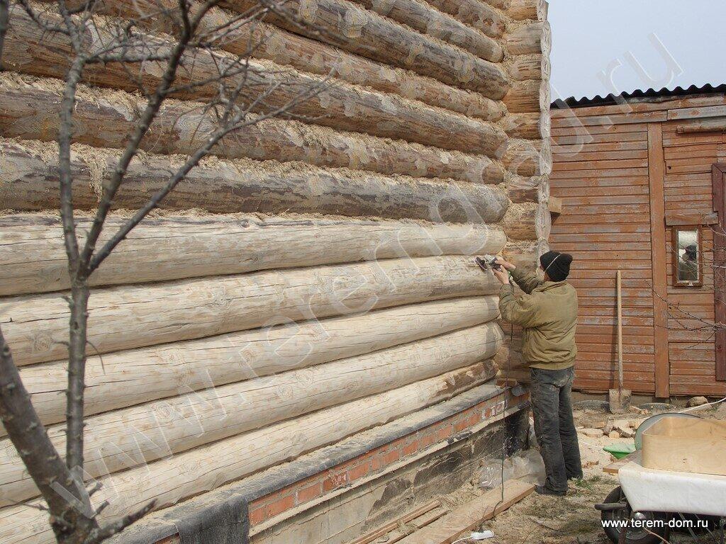 Ремонт сруба деревянного дома  видео 127