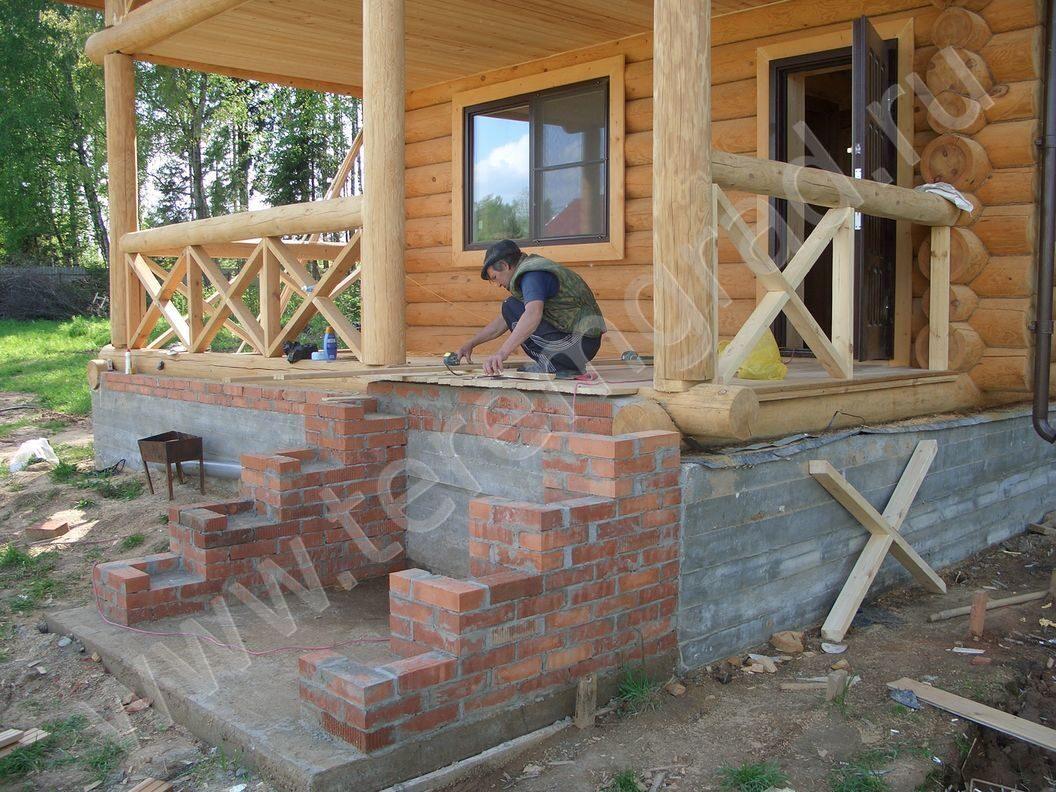 Крыльцо деревянное к дому фото своими руками 16