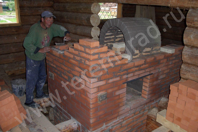 Русская печь с подтопком - Отопление и утепление своими руками 63