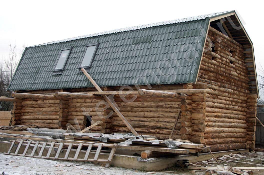 Монтаж профнастила на мансардную крышу своими руками 2