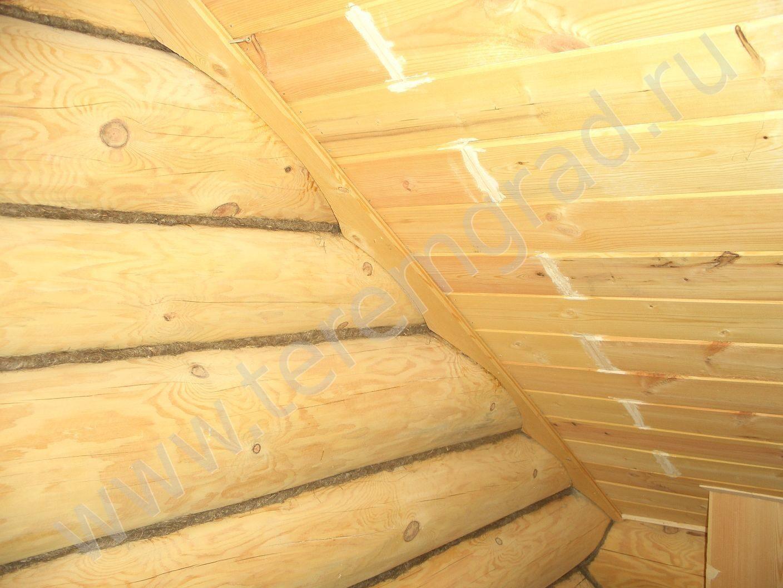 Как сделать потолок из евровагонки? Конструкция 81