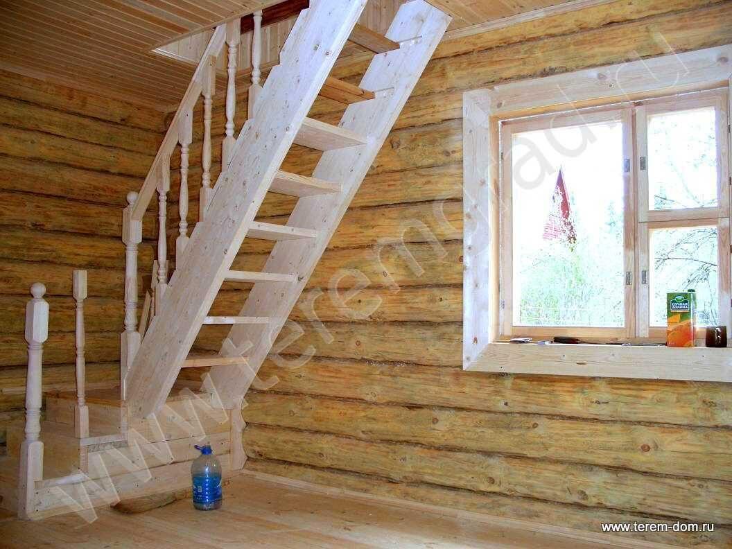 Лестница в доме на мансарду своими руками фото 987