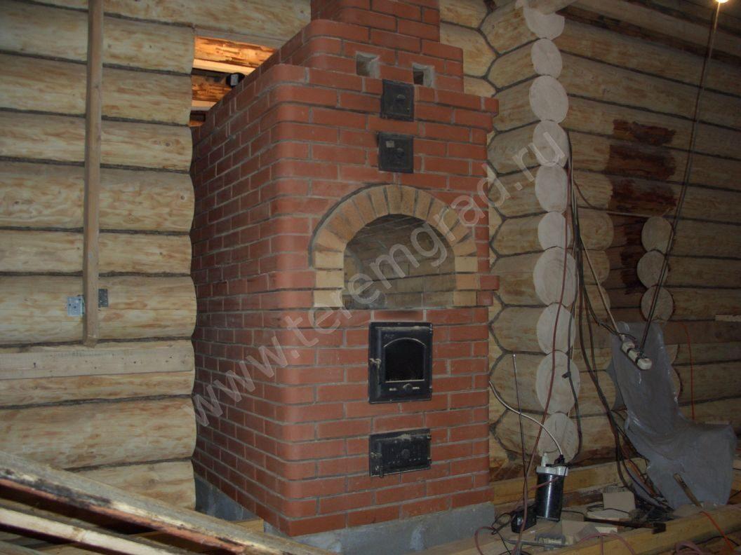 Печь для деревенского дома своими руками 625