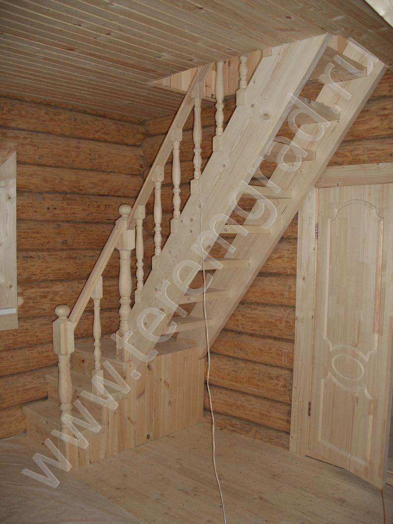 Как сделать своими руками лестницу на мансард