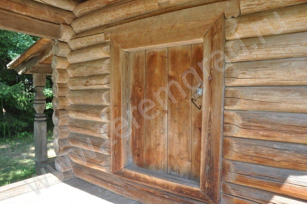 купить входную дверь в сруб